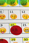 Emoji emotion sheet