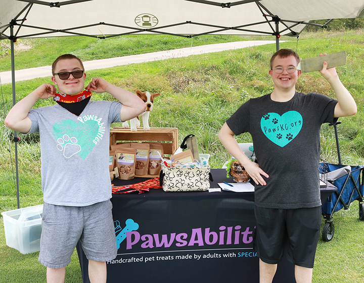 PawsAbilities stand up tent
