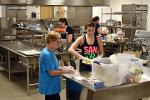 Baking 4,000 total cookies for Ciderfest becomes a family effort.