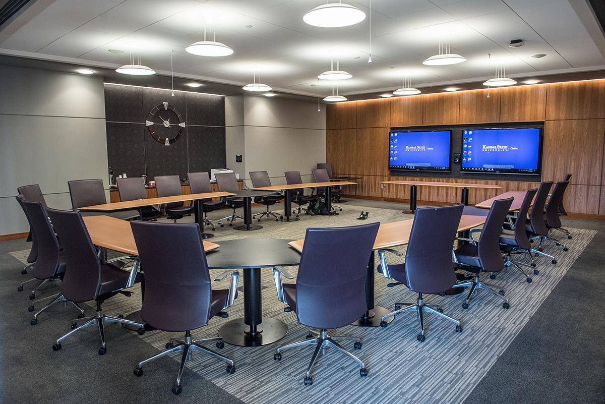 Executive Board Room Room Information K State Olathe