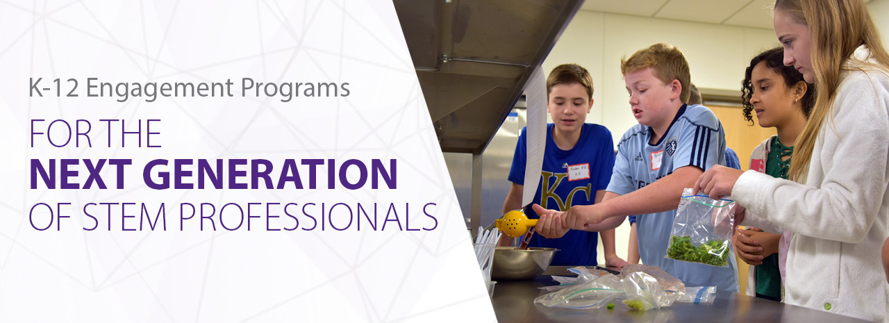 K-12 engagement programs for the next generation of STEM professionals