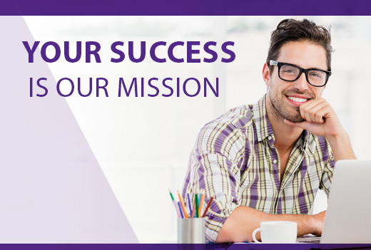 Your Success is our Mission