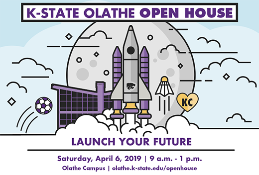All-University Open House on April 6